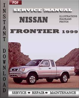 Nissan Frontier 1999 manual
