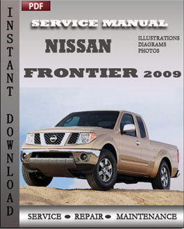 Nissan Frontier 2009 manual