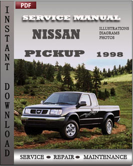 Nissan Pickup 1998 manual