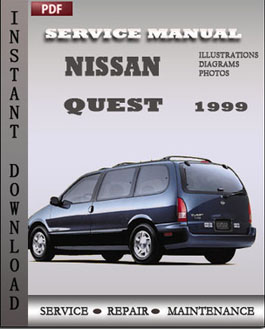Nissan Quest 1999 manual