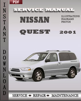 Nissan Quest 2001 manual