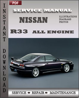 Nissan R33 All manual