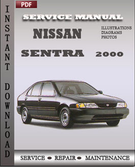 Nissan Sentra 2000 download repair manual  Workshop Service