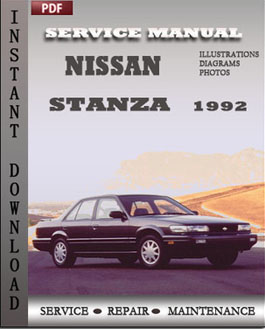 free download of 1992 nissan stanza owners manual. Black Bedroom Furniture Sets. Home Design Ideas