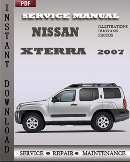 Nissan Xterra 2007 manual