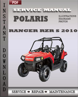 Polaris Ranger RZR Ranger RZR S 2010 manual