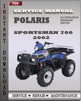 polaris sportsman 600 700 800 series 2002 2010 repair. Black Bedroom Furniture Sets. Home Design Ideas