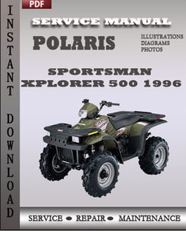 Polaris Sportsman Xplorer 500 1996 manual
