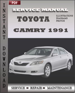 toyota camry 1991 service manual download repair service manual pdf. Black Bedroom Furniture Sets. Home Design Ideas