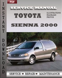 toyota sienna repair manual