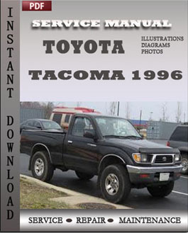 Toyota Tacoma 1996 manual