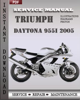 Triumph Daytona 955i 2005 manual