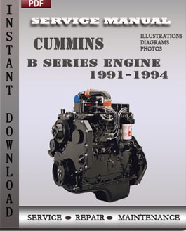 Cummins B Series Engine 1991-1994