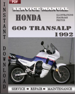 Honda 600 Transalp 1992 global