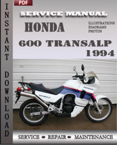 Honda 600 Transalp 1994 global