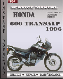 Honda 600 Transalp 1996 global