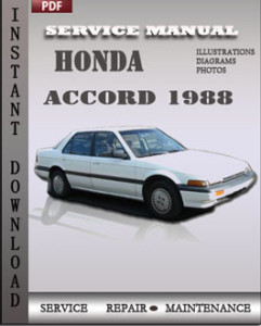 Honda Accord 1988 global