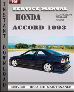 Honda Accord 1993 global