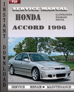 Honda Accord 1996 global