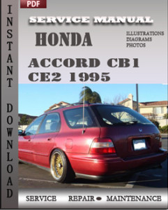 Honda Accord CE1 CE2 1995 global