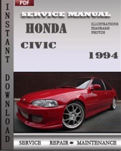 Honda Civic 1994 global
