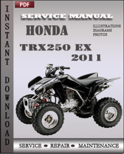 Honda TRX250 EX 2011 global