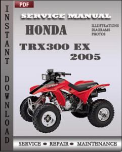 Honda TRX300 EX 2005 global