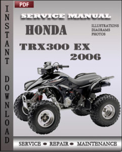 Honda TRX300 EX 2006 global