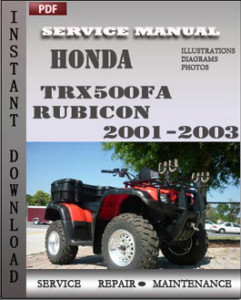 2003 honda cr250r service manual free download