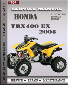 Honda Trx400 EX 2005 global
