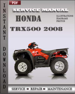 Honda Trx500 2008 global