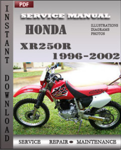 Honda XR250R 1996-2002 global