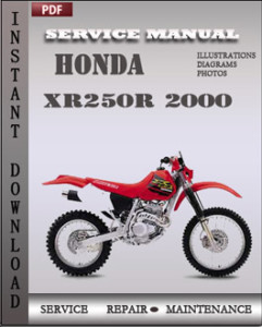 Honda XR250R 2000 global