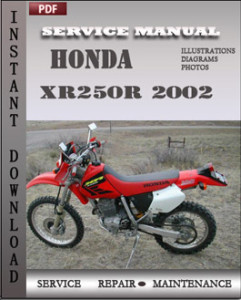 Honda XR250R 2002 global