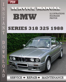 BMW 3 Series 318 325 1988 manual
