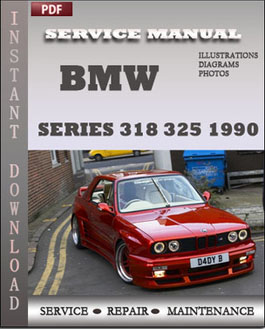 BMW 3 Series 318 325 1990 manual