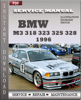 BMW 3 Series M3 318 323 325 328 1996 manual