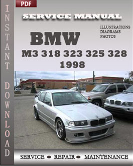 BMW 3 Series M3 318 323 325 328 1998 manual