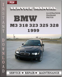 BMW 3 Series M3 323 325 328 330 1999 manual