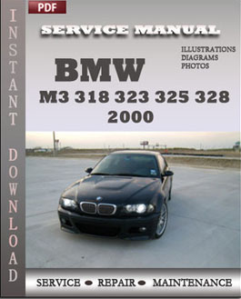 BMW 3 Series M3 323 325 328 330 2000 manual