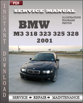 BMW 3 Series M3 323 325 328 330 2001 manual