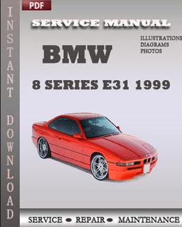 BMW 8 Series e31 1999 manual