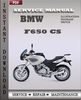 BMW F 650 GS manual
