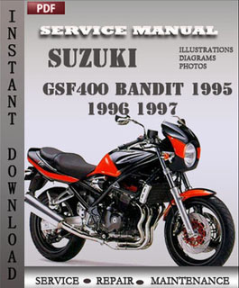 Suzuki Bandit GSF400 1995 1996 1997 manual