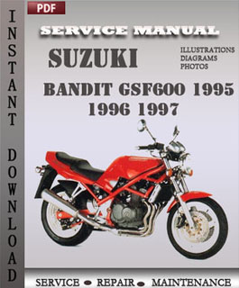 Suzuki Bandit GSF600 1995 1996 1997 manual