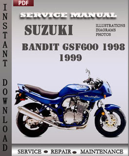 Suzuki Bandit GSF600 1998 1999 manual