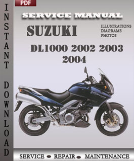 Suzuki DL1000 2002 2003 2004 manual