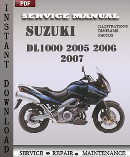 Suzuki DL1000 2005 2006 2007 manual