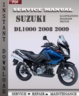 Suzuki DL1000 2008 2009 manual