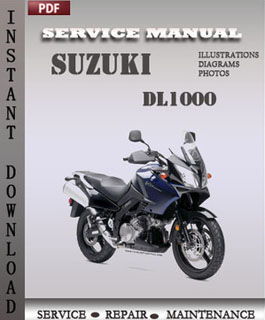 Suzuki DL1000 manual